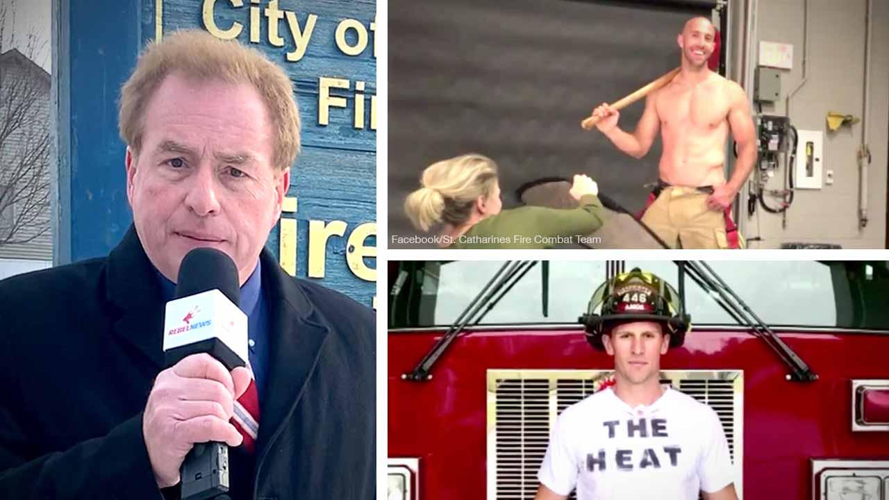 War on fun! Firefighter charity calendar axed after complaint