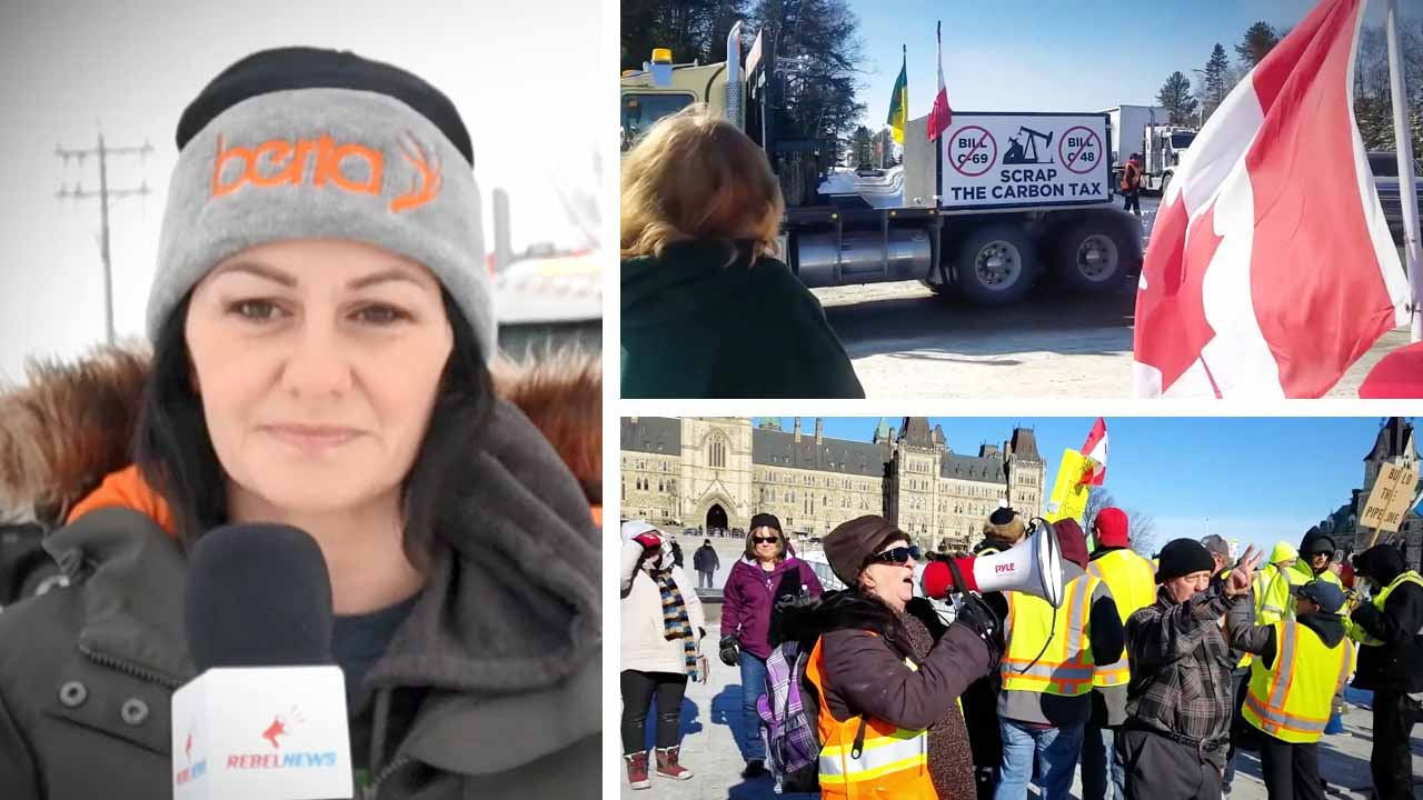 """Pathetic"" Trudeau is ""wrecking this country"": United We Roll reacts to Teck Mine, blockades and Alberta's economy"