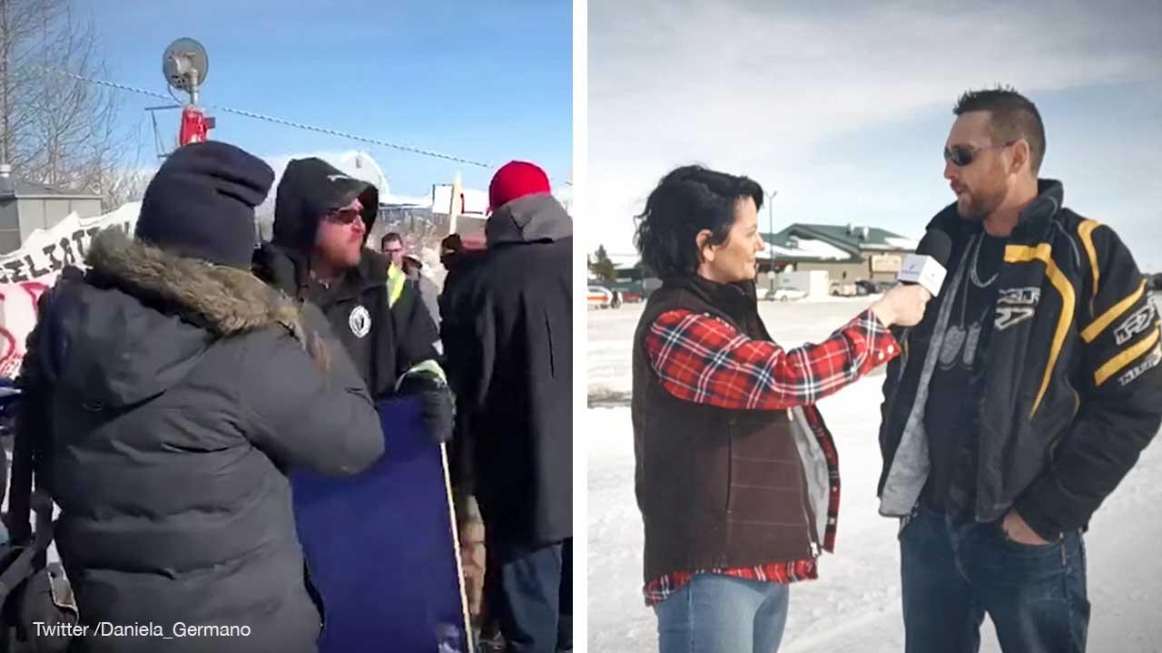 "Alberta blockade buster Guy Simpson: ""I had to step in"""