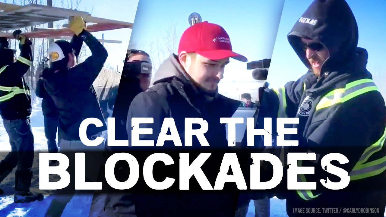 Alberta: Activist thug assaulted a blockade remover — so Rebel News is fighting back