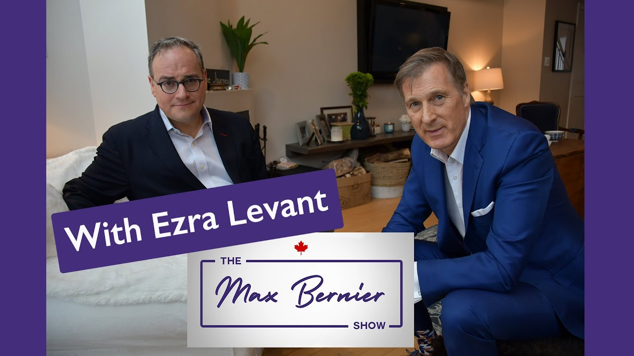 Maxime Bernier and Ezra Levant talk about the erosion of free speech in Canada
