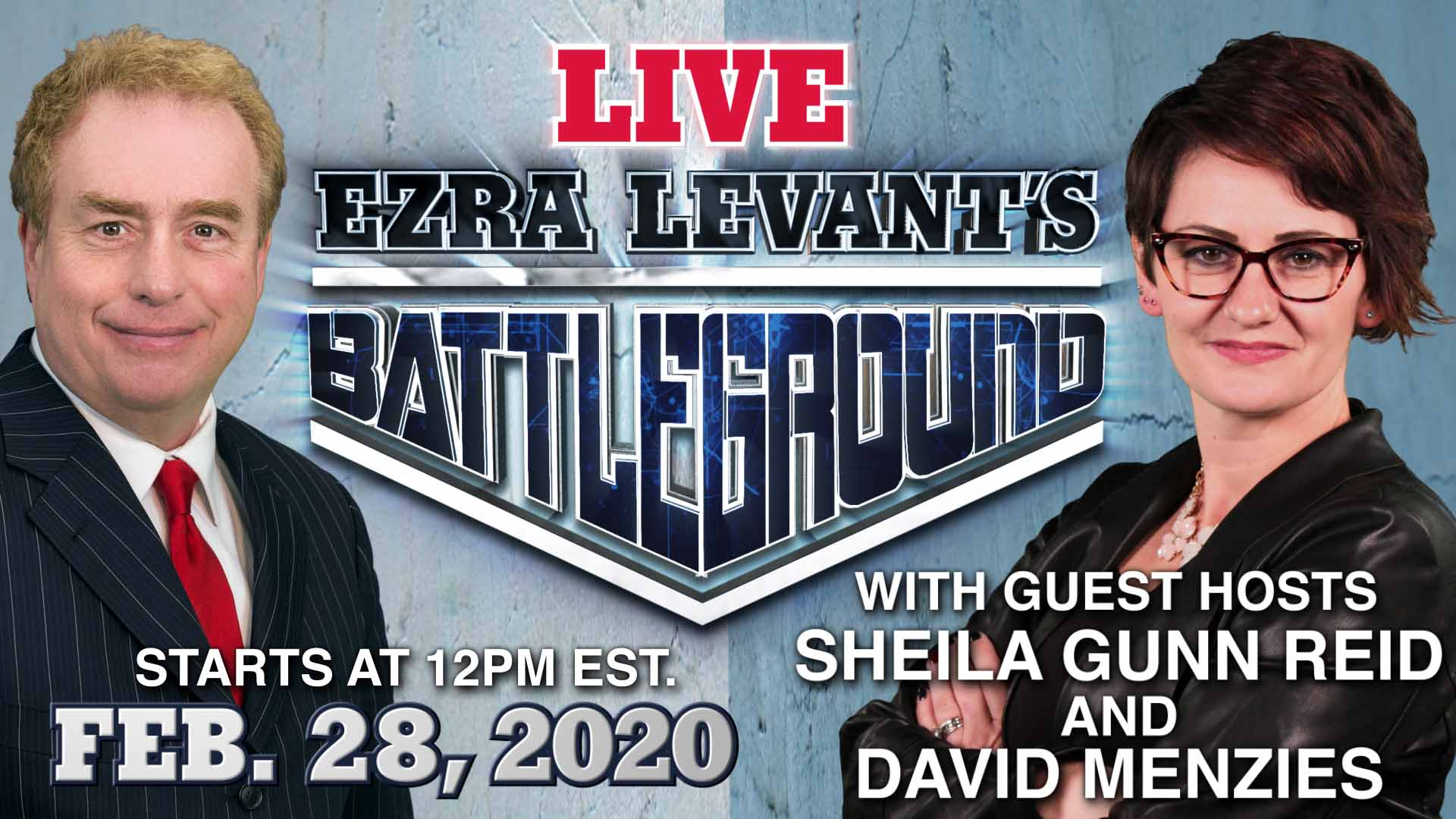BATTLEGROUND | LIVE CHAT with David and Sheila!