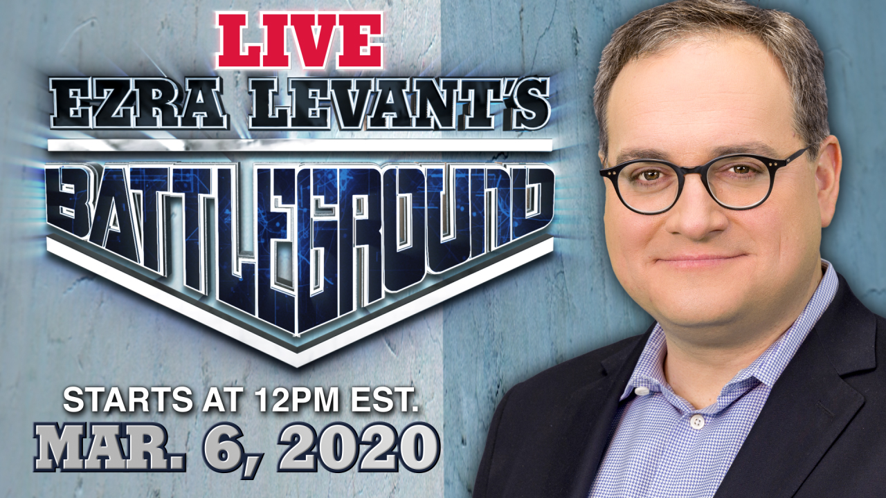BATTLEGROUND | LIVE CHAT with Ezra Levant