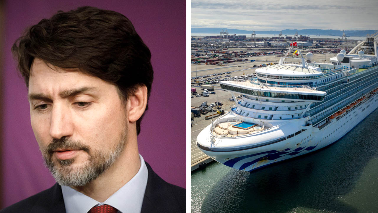 Trump to Trudeau: Fly the Canadians on coronavirus Grand Princess cruise back to your country!