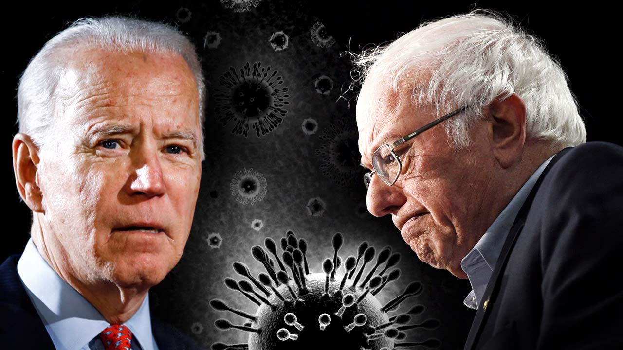 Biden and Bernie say they wouldn't close the border, ban travel to stop spread of Coronavirus if they were president