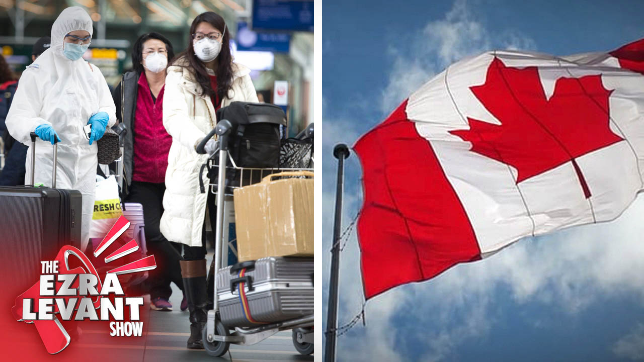 Canada's supposed to be on lock-down — but unvetted flights are still arriving from places like China
