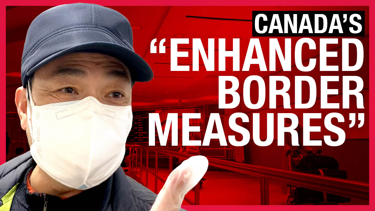 """Arrivals from China tell Rebel News what Canada's new """"enhanced"""" airport screening is really like"""