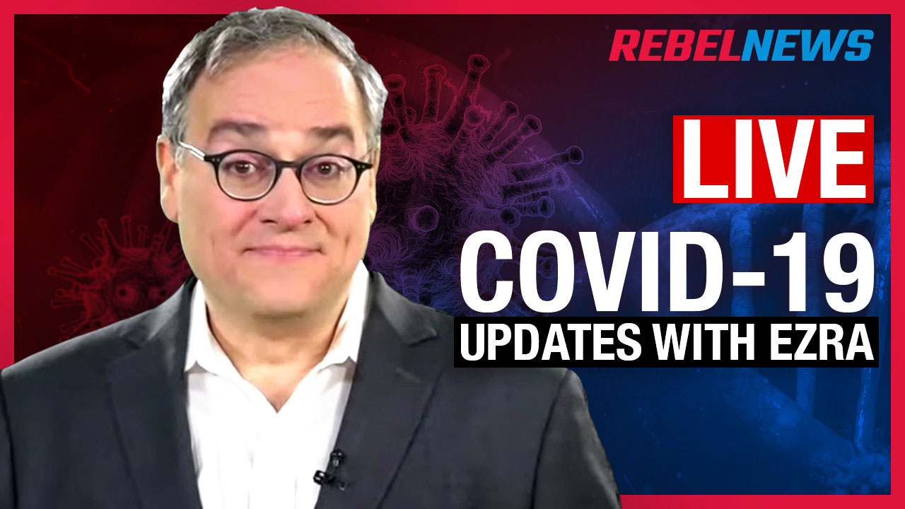 LIVE CHAT! Coronavirus update with Ezra Levant