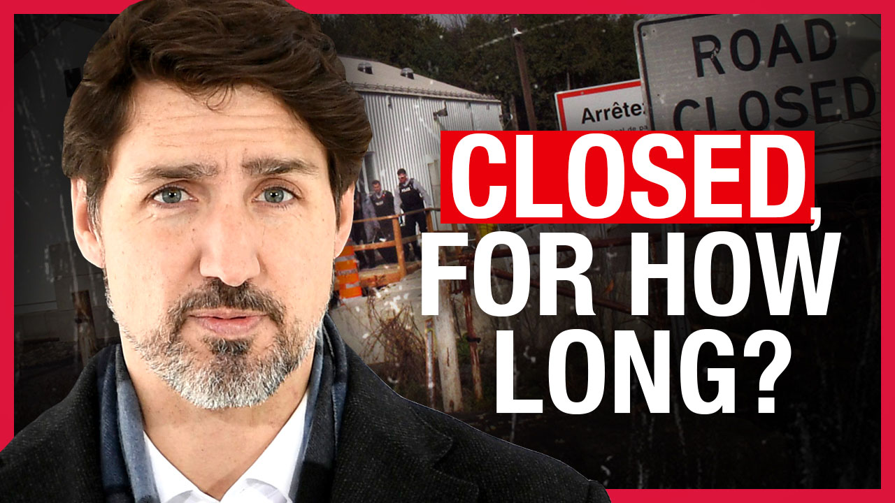 WE DID IT — Trudeau actually closed the Roxham Road border checkpoint!