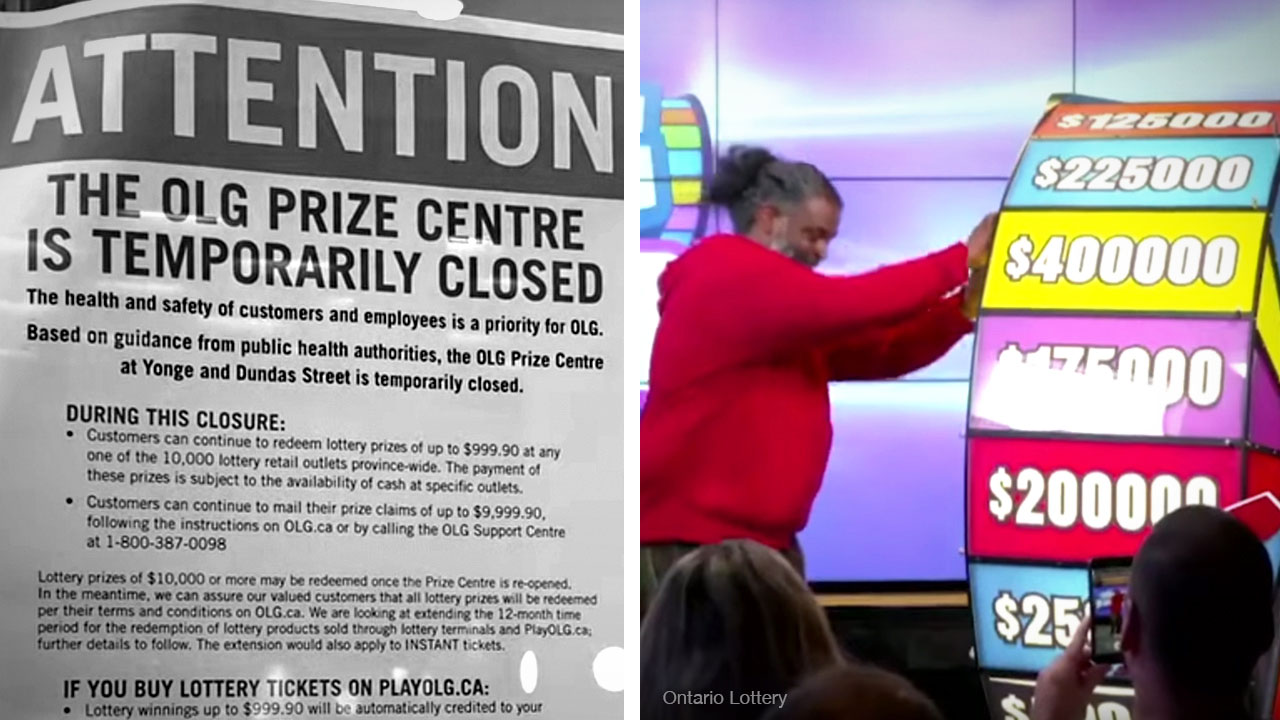 OLG keeps selling lottery tickets but won't pay out prizes higher than $10K — blames coronavirus