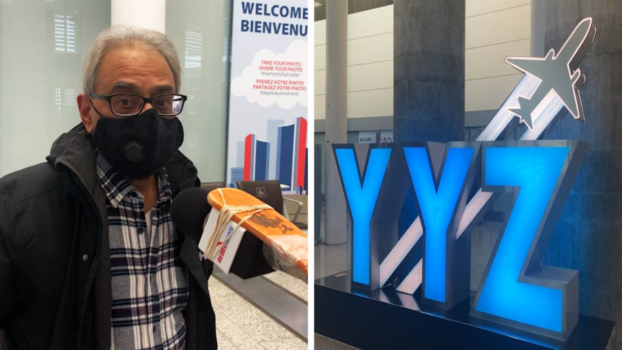 Travellers to Canada surprised: STILL no masks, temperature tests at Toronto's Pearson International Airport