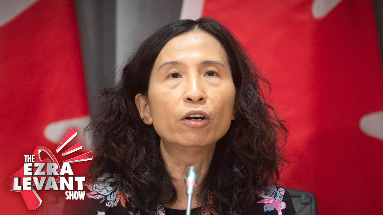 Don't wear a face mask in Canada! Dr. Theresa Tam knows Trudeau already gave them away to China