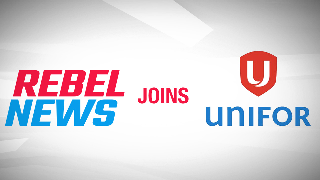 Rebel News staff vote to join Unifor