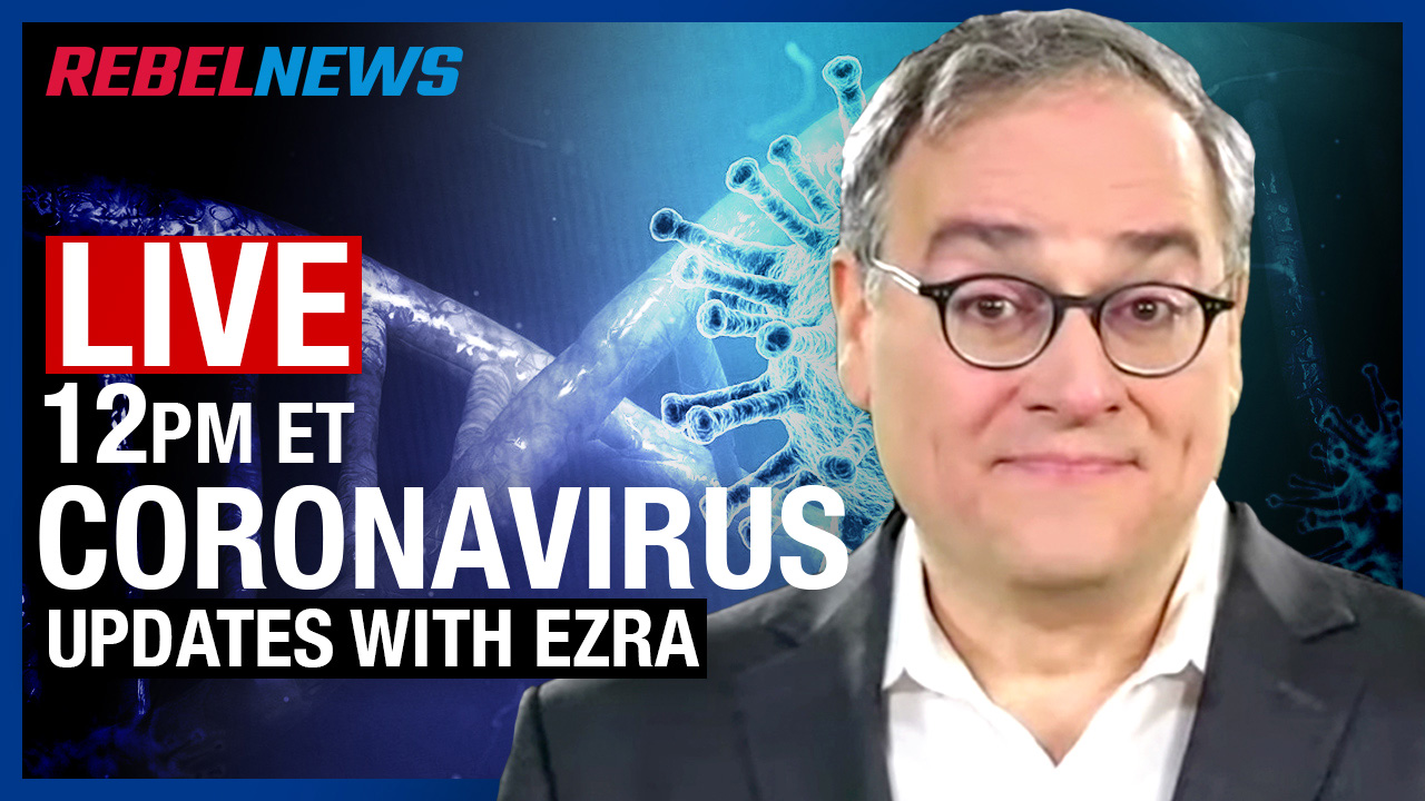 LIVE CHAT with Ezra Levant: China's virus lab INTENTIONALLY harvested bats for their virus potential!