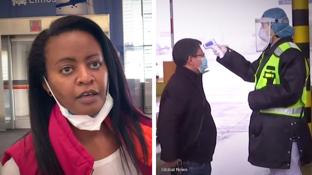 Ethiopian airport checks for coronavirus symptoms... Toronto Pearson International STILL doesn't!