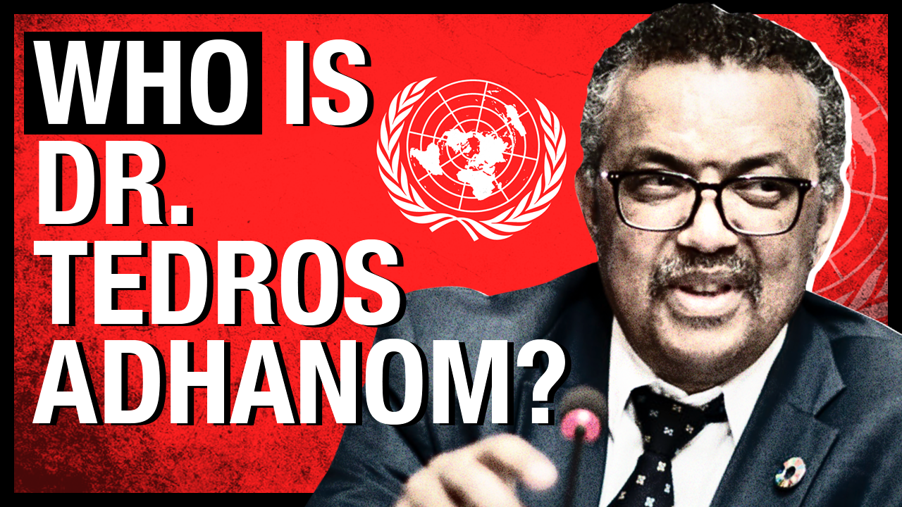 WHO Director General Tedros Adhanom isn't a medical doctor — but he IS an ally of China, with a troubling human rights record