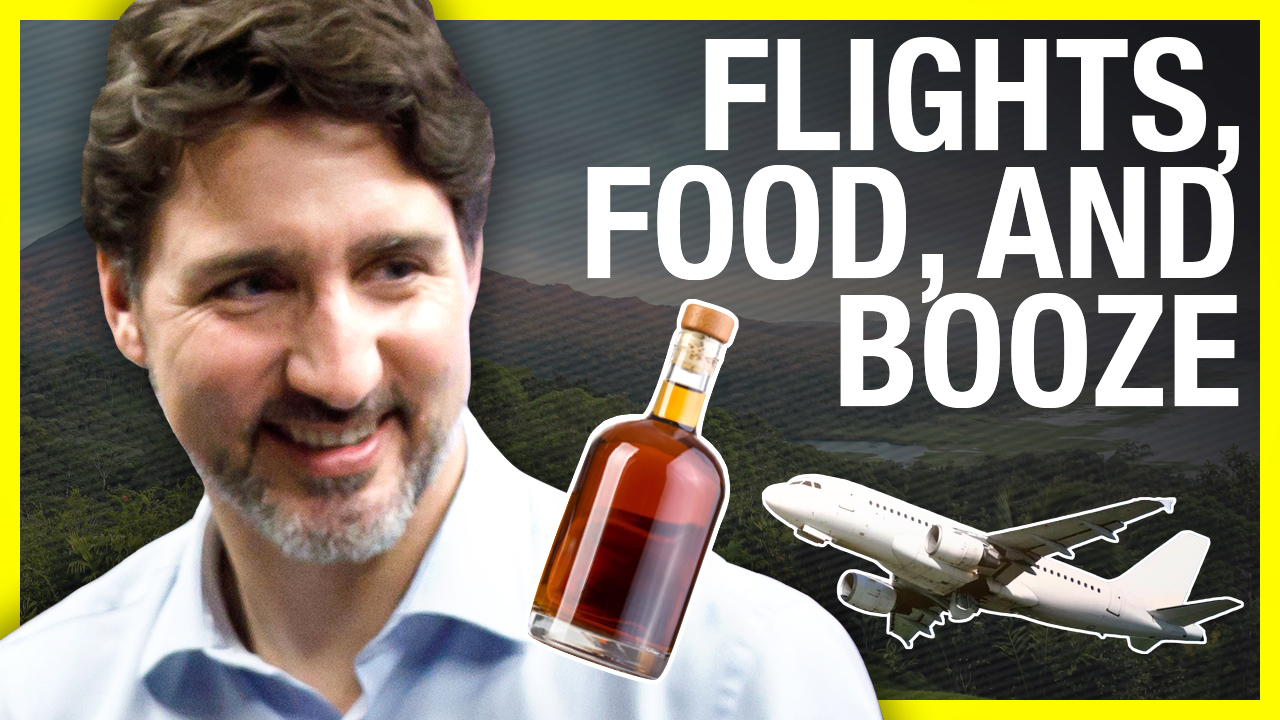 WHAT DID THEY EAT? Trudeau expenses $1200 for family meals on round trip to Costa Rica
