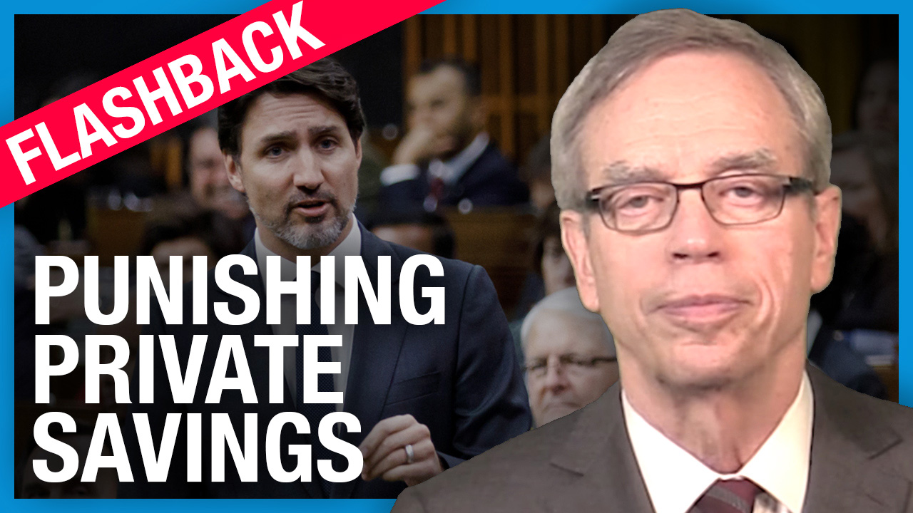 (FLASHBACK) Ex-Finance Minister Joe Oliver: Raising capital gains tax is bad for everyone