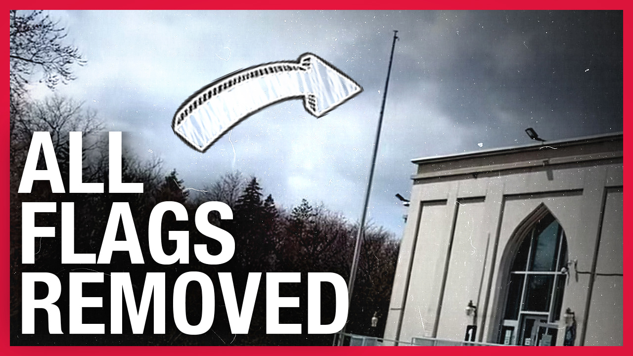 UPDATE! Mosque removes ALL flags after Rebel reports on Maple Leaf violation