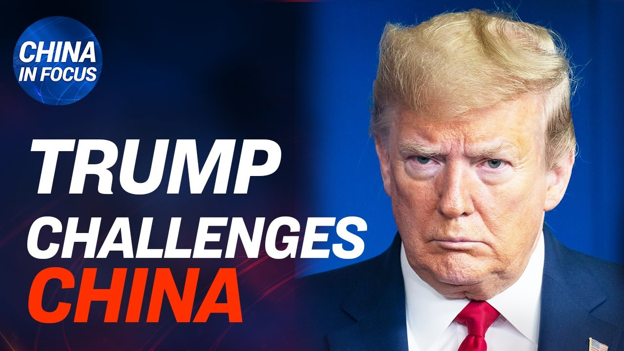 (WATCH) Trump challenges China reporting on CCP virus; CCP's influence on WHO; Virus follows communism ties