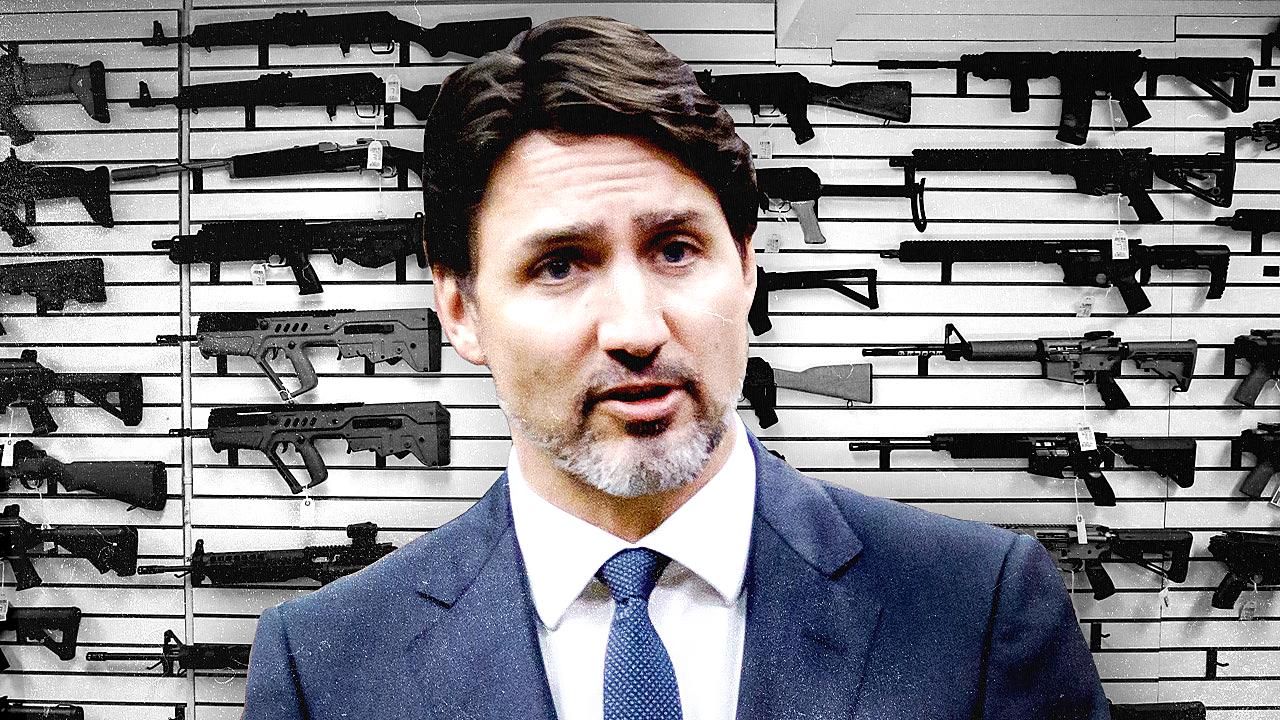 Trudeau Government promises 'gun control' once parliament returns