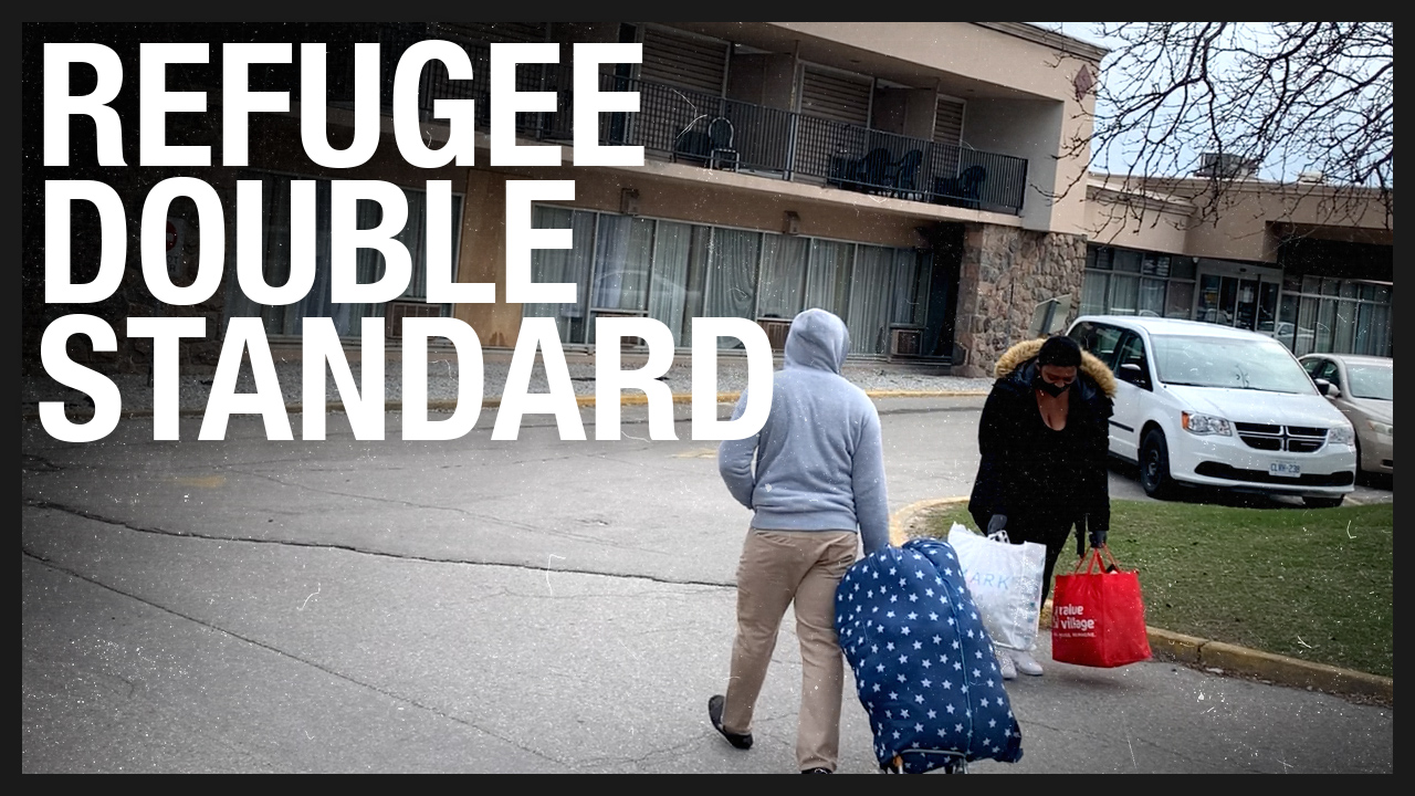 Toronto's refugee hotel: Where are the fines for breaking social distancing?