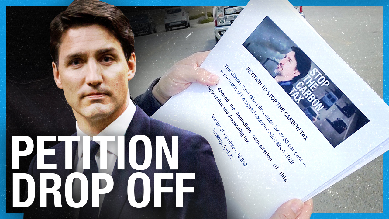 UPDATE: Stop the Carbon Tax Petition DROP OFF!