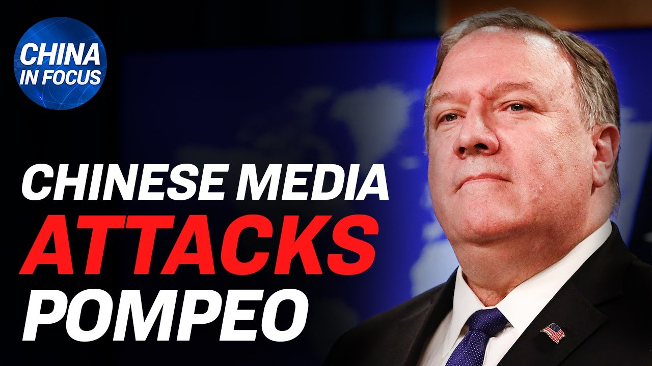 (WATCH) Chinese media slanders Pompeo as 'enemy of mankind';US could seek billions from China over CCP virus