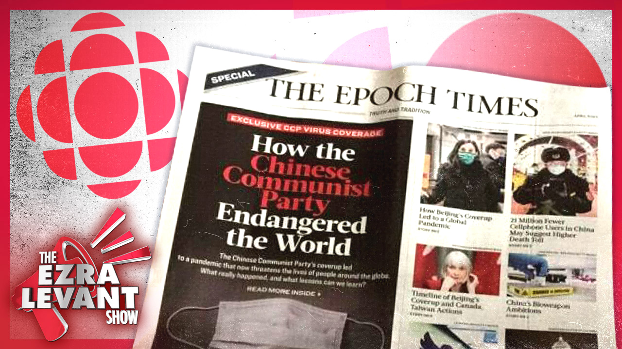 Exposing CBC's disgraceful story attacking anti-Communist China Epoch Times
