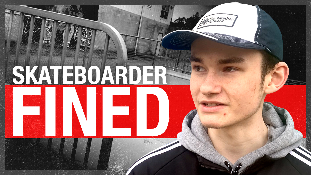 Fight the Fines case #6 — College freshman skateboarder fined for using empty skate park