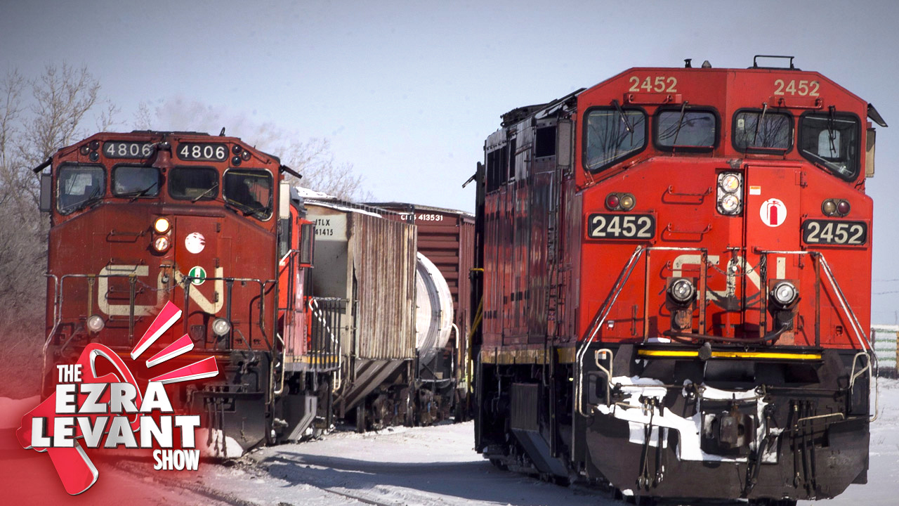 Good news: CN is suing the railway blockaders