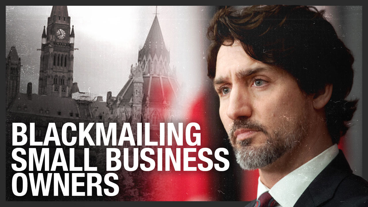 Trudeau's COVID-19 business loan bailout requires accepting Liberal statement of values
