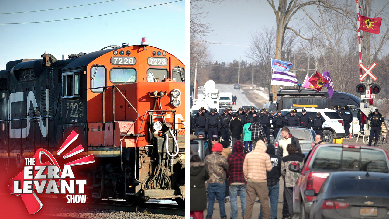 CN is taking the railway blockaders to court (because Trudeau and the RCMP did nothing)
