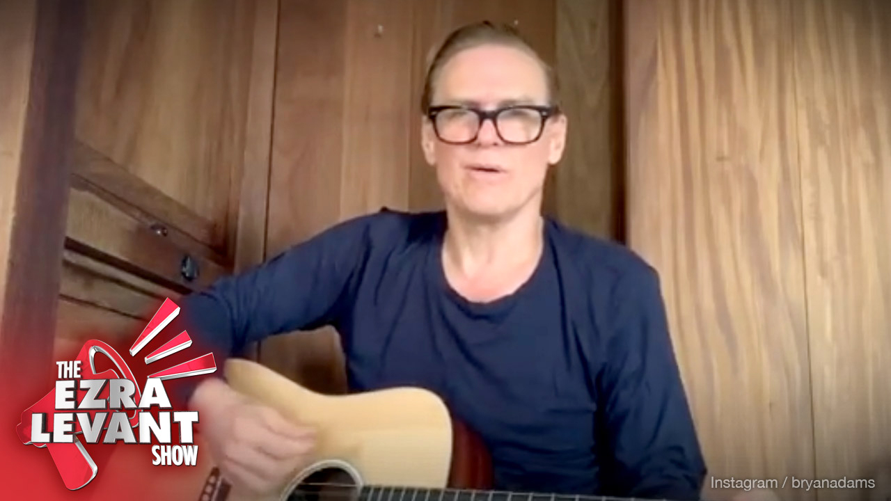 Is singer Bryan Adams racist for swearing at China? The CBC thinks so.