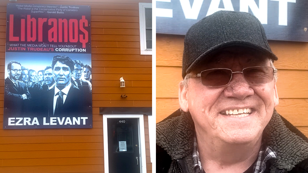 THE LIBRANOS: Meet the Rebel fan who installed this billboard in Cornwall, Ontario