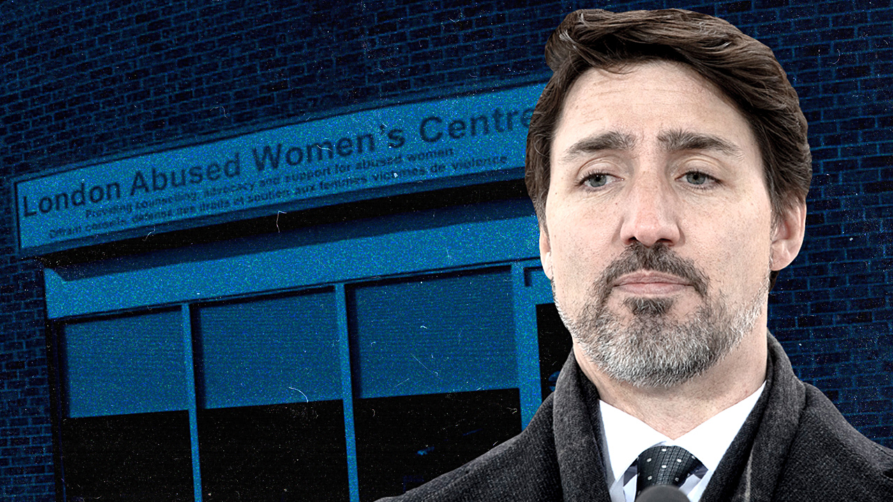 "CHARGE: Liberals cut funding for women's shelters — but bail out ""sex traffickers"""