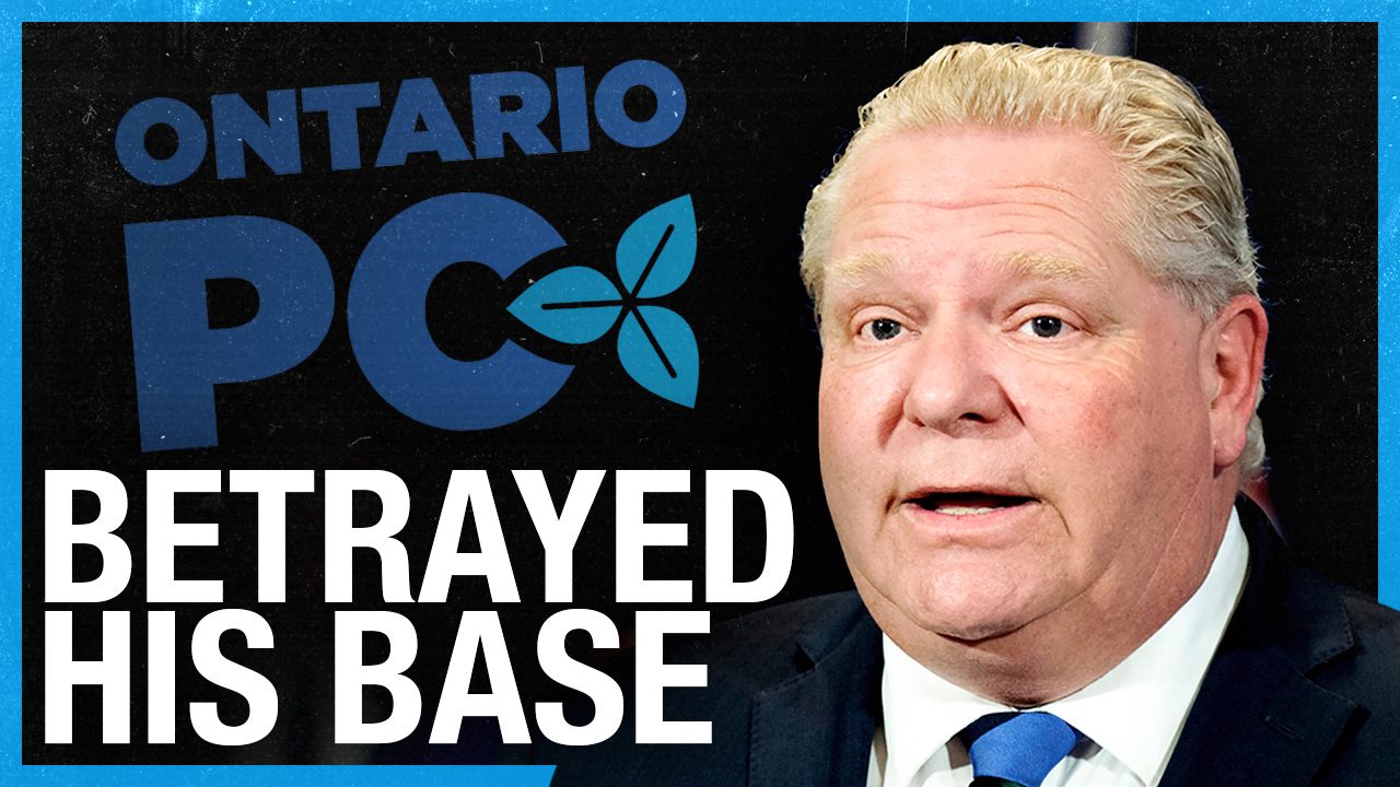 Doug Ford BETRAYS his voters? (LIVESTREAM CLIP)