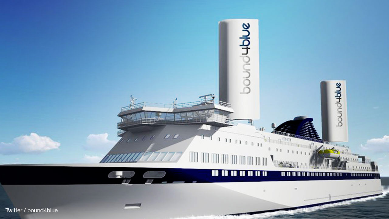 Green startup wants to put sails on container ships