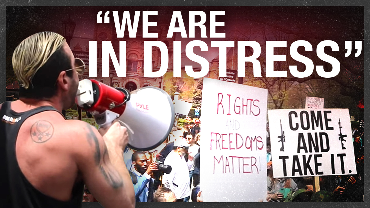 Free the north: Toronto's biggest anti-lockdown protest yet