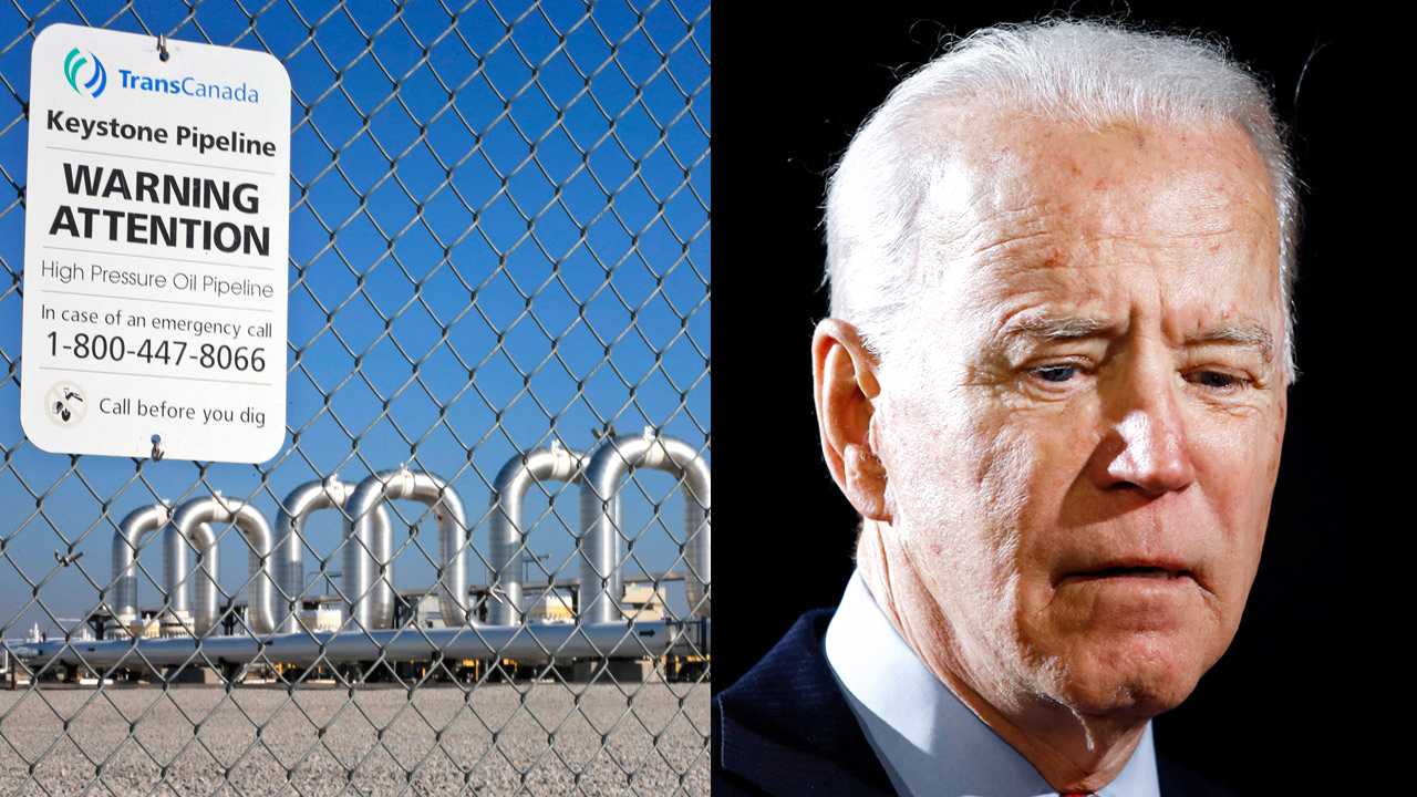 Joe Biden promises to cancel Keystone XL pipeline
