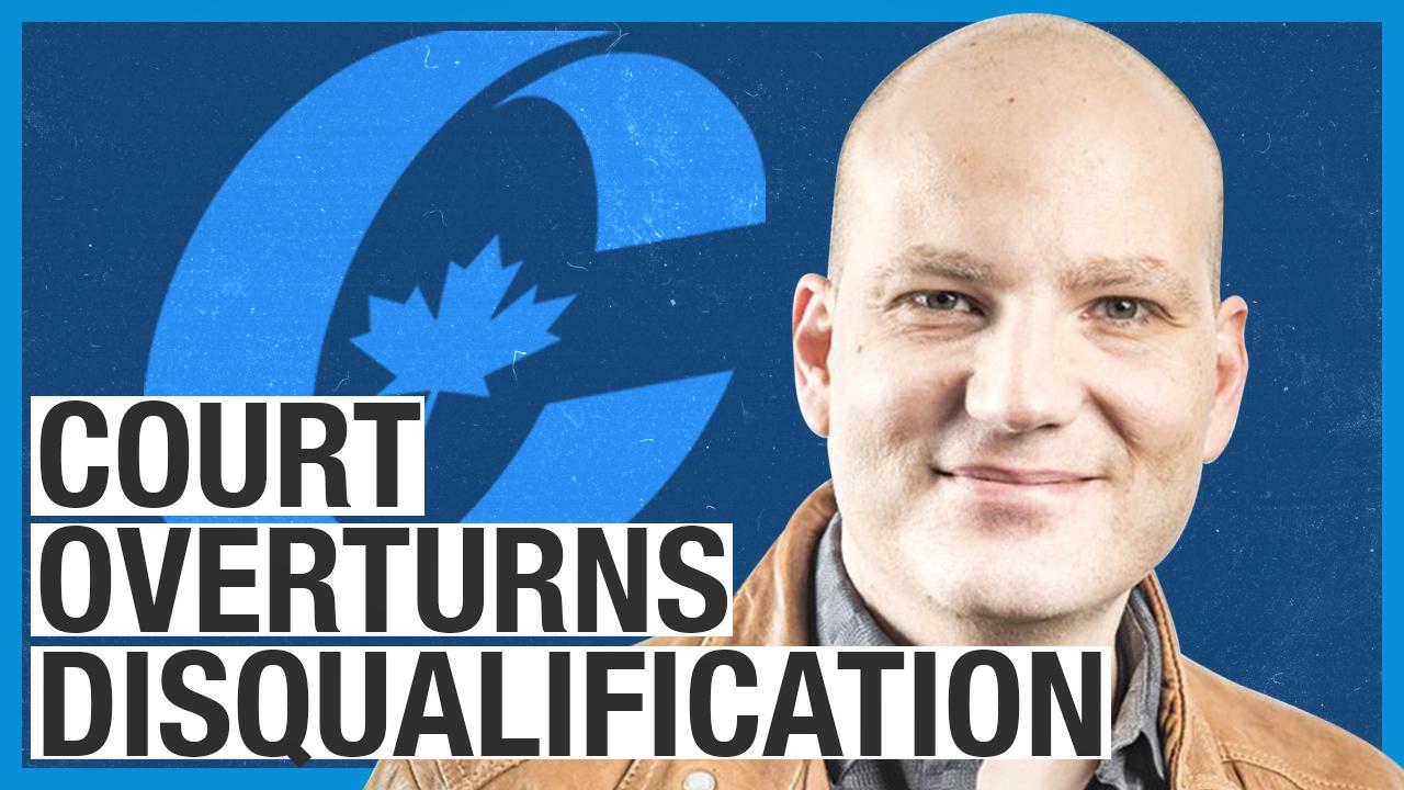 Ezra Levant reacts: Jim Karahalios wins court case against Conservative Party of Canada