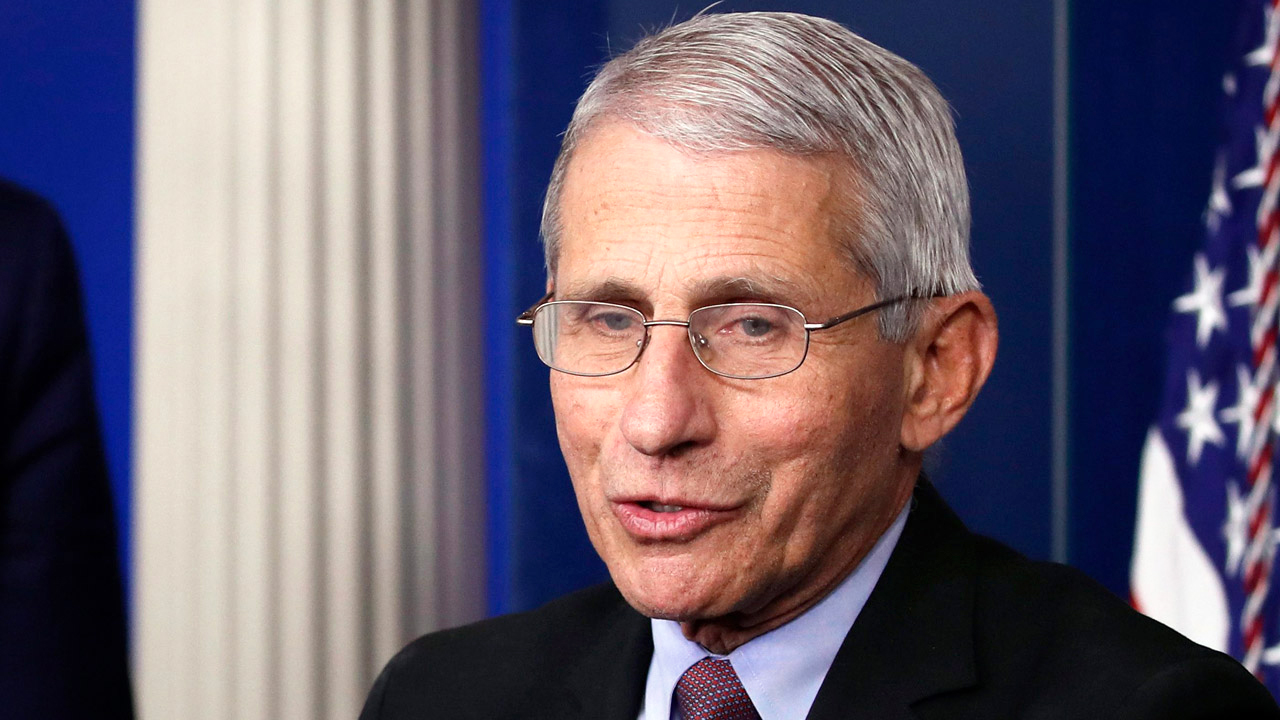 "Fauci says ""now is the time"" to re-open"