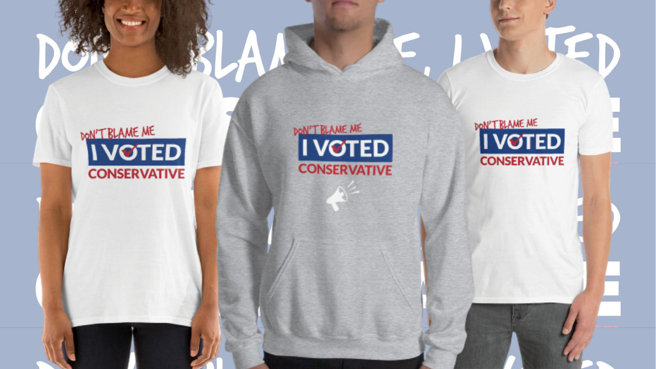 Don't Blame Me I Voted Conservative Redirect