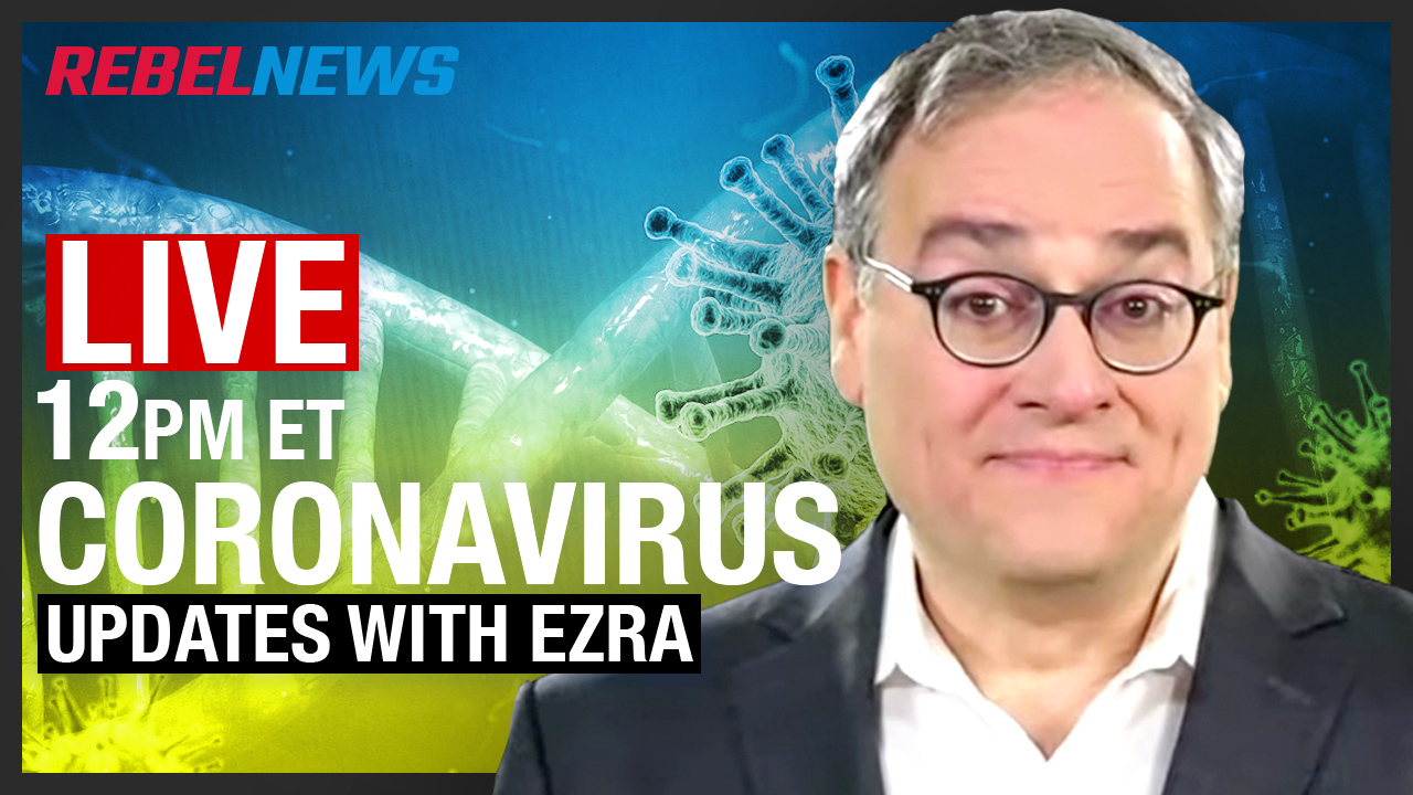 LIVE ON YOUTUBE! Ezra Levant