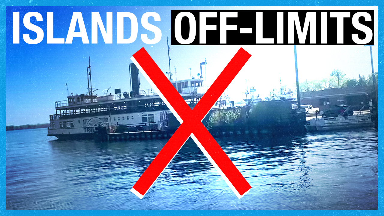"Government ""can't restrict people!"" Toronto's ferries are still off-limits"