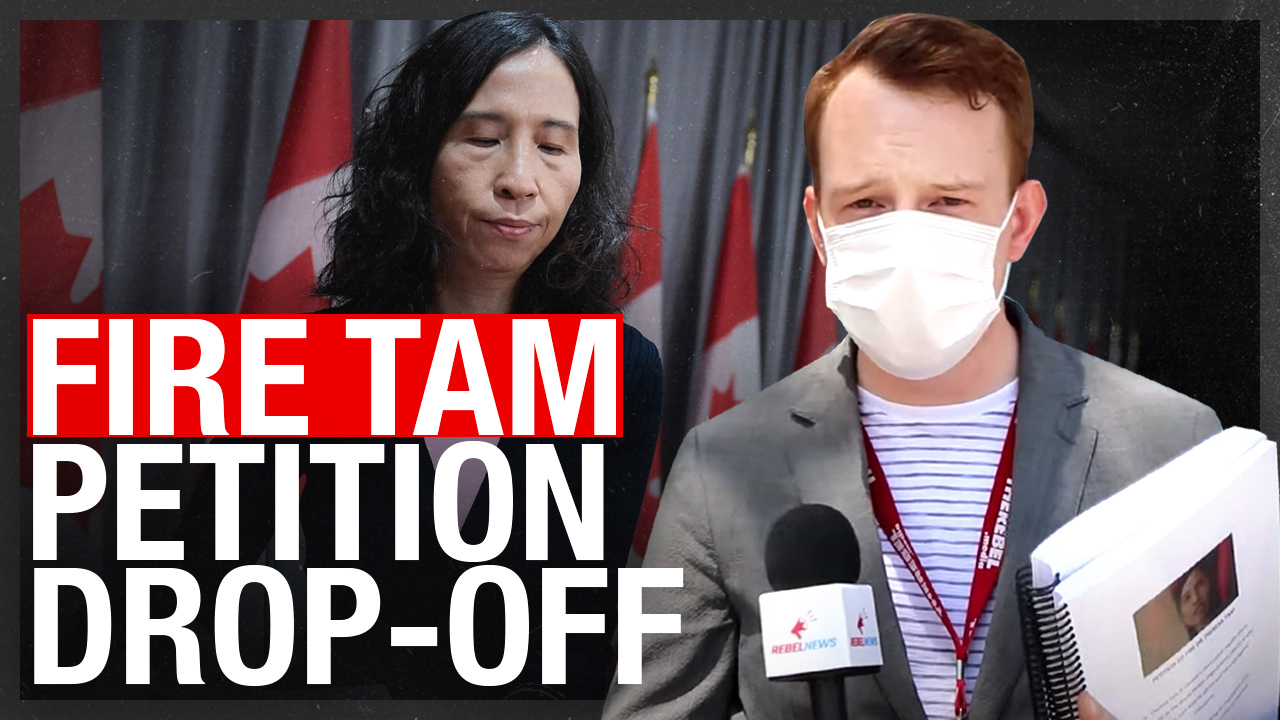 PETITION DROP OFF! 50,000 Canadians want Dr. Theresa Tam FIRED