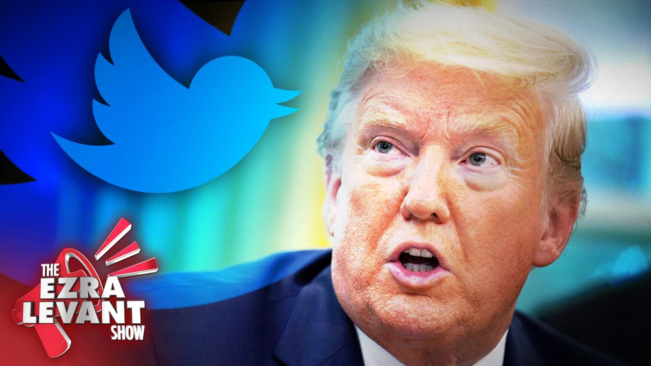 Twitter VS Trump (Joe Biden's hall monitor)