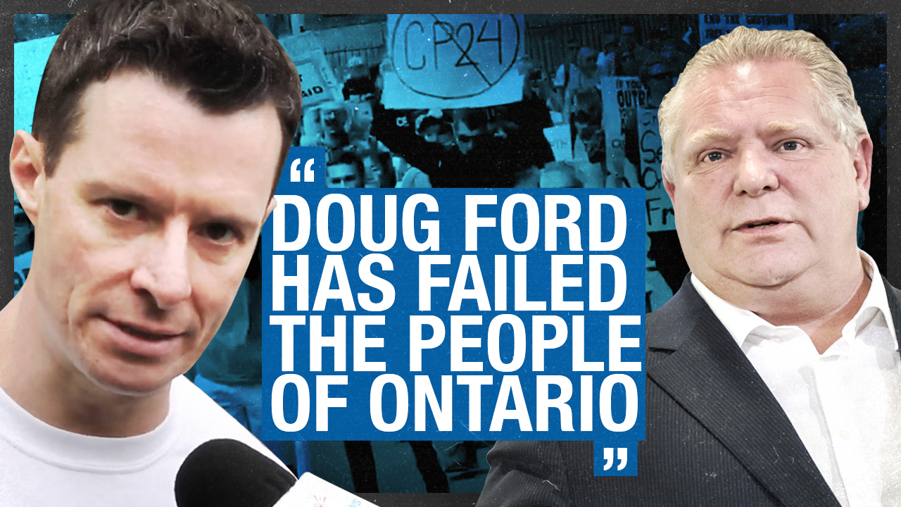 """I've known Doug Ford personally since I was 4"": Torontonians demand end to Ontario's lock down"
