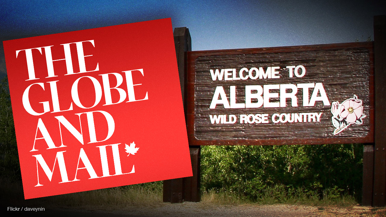 Globe and Mail's new Alberta reporter is based in Toronto