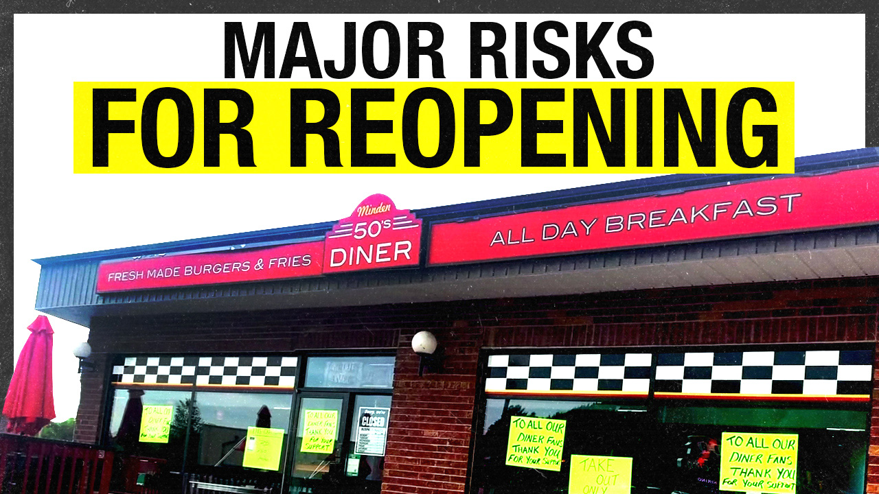 """A criminal for serving bacon & eggs"": Diner faces $500K FINE for reopening"